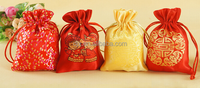 new year fashion money purse gift bag/Quality Promotional Heat sealed and Sewed Gift Bag