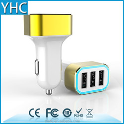 WIRELESS usb car charger wih 2 usb portable port for iphone 6