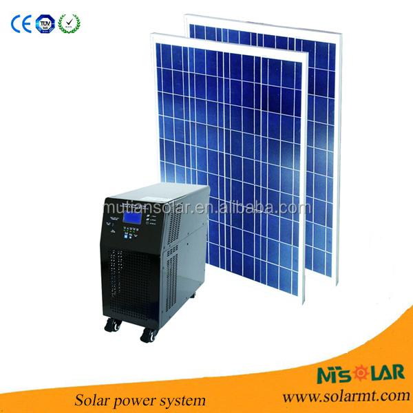 5kw 6kw 8kw 10kw Home Solar Power Station Mini Solar Power