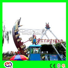 LED lights BV, ISO certified thrill rides outdoor pirate ship playset