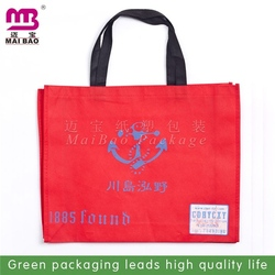hot sale customized custom eco friendly silk printing non woven bag