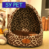 Mongolia kennel dog house cat litter cat bed warm puppy dog bed nest house in summer