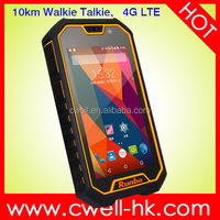 5.0 Inch NFC android phone dual sim glonass IP67 Waterproof 4G LTE Runbo X6 VHF/UHF Walkie Talkie Smartphone