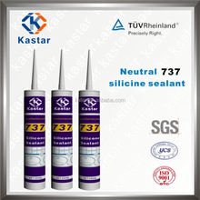 Neutral Clear Antifungus Silicone Sealant