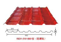 colored corrugated steel wall panel colored corrugated galvanized roof plate