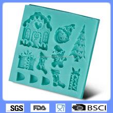Nova venda quente DIY bolo baking silicone molde fondant moldes em forma de mold bolo de chocolate decoração romântica CD-F353