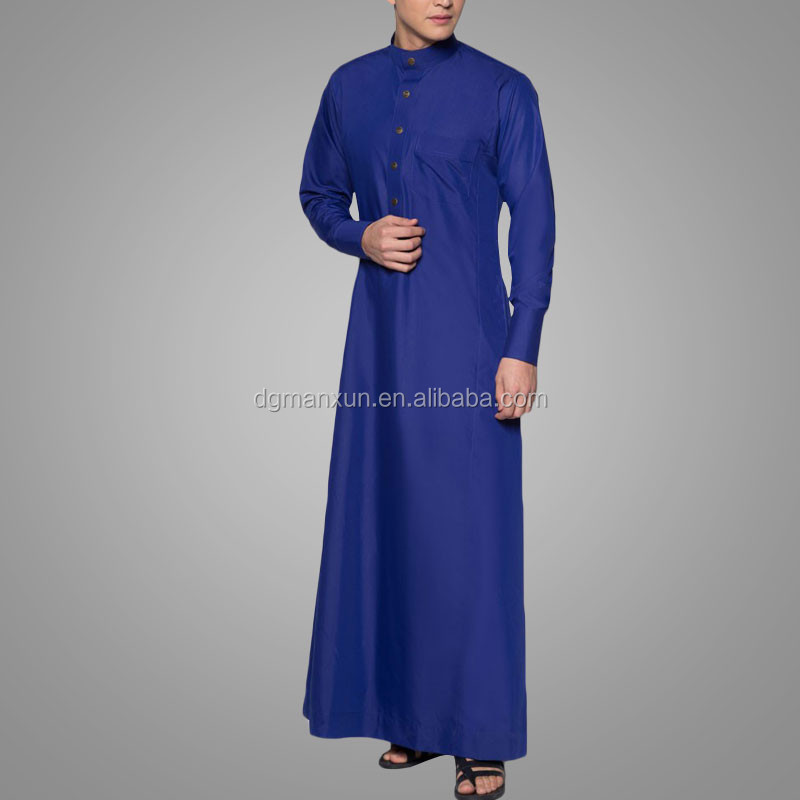 Muslim wear men jubah a slim fit muslim jubah 2016 new style islamic muslim men thobe