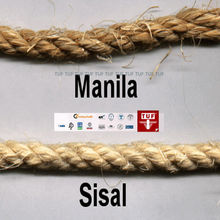 marine manila rope/ twist manila rope/ mooring rope