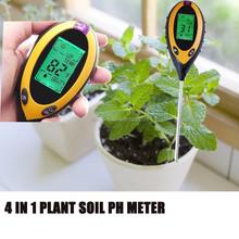 Digital 4 in 1 Plant pH/Temperature/ Moisture/Sunlight soil moisture meter KC300B