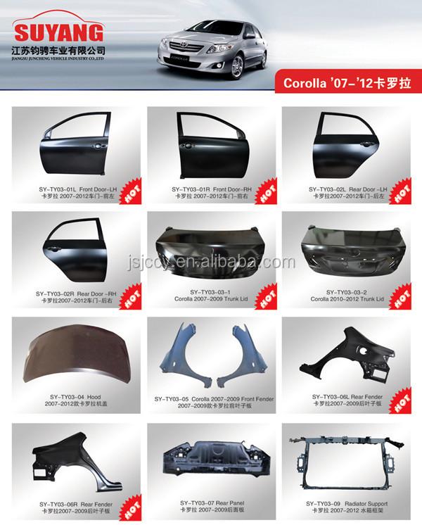 Toyota Yaris Sedan Rear Door Car Body Replacement Parts Buy Toyota Yaris Sedan Parts Toyota
