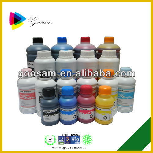 High qualty water based textile printing ink for byc 168 3 for Water based t shirt printing