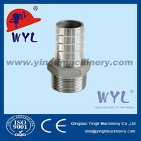 Stainless Steel 304 BSPT Class 150 Screw Cast Pipe Fitting HOUSE NIPPLE