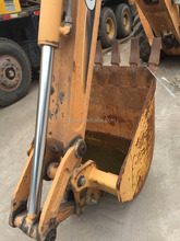 Used condition USA made Case super M 580M backhoe loader year 2014 with several hundred working hour second hand case 580 backho