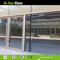 8MM Low-e +9A+8MM Vacuum Insulated Glass Exterior Building Glass Curtain Wall