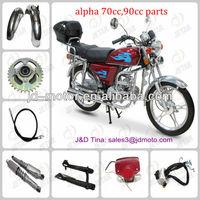 parte de motocicleta alpha 110