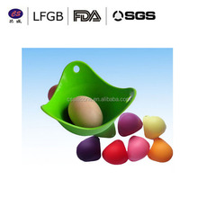 2015 hot selling cooking tools customized Silicone Egg Poacher/silicone egg poach pods