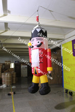 3m high inflatable Nutcracker characters for sale
