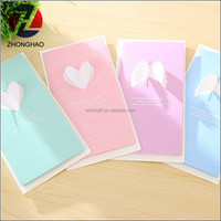 New design custom wholesale lovely greeting card paper