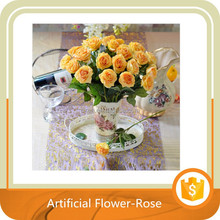 Real Touch Latex Rose Artificial Flowers For wedding Bouquet Decoration
