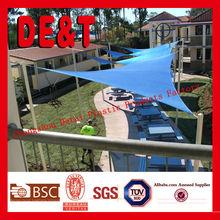 HDPE waterproof sun shade sail