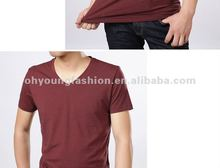 2012 Very Popular Wholesales High Quality Fashion Cotton Summer Plain Printing T shirts For Man Sportswear In Humen