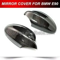 Carbon Fiber Tape-on Mirror Covers for 2005-2008 BMW E90 E91 3 Series 320I 330I