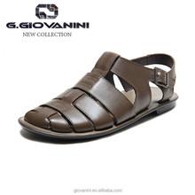 Khaki 2015 ITALY original no heel indian sandals pakistani sandals
