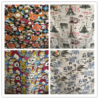 polyester printed fabric and textile