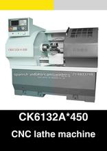 bajo precio pequeño CNC de torno de metal para la venta CK6132A