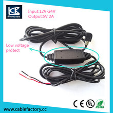 usb carging cable 5v 2a output car charging cable for car navigation gps micro usb charging cable