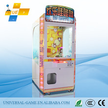 2015 Latest Be Happy Mini Simulator Catch Crane Toy Claw Game Machines for Sale