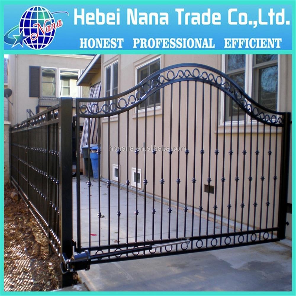 China Factory Price Iron Gates Modern Garden Fence Gate