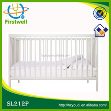 multi-purposes baby cot wood style
