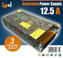 12V 12.5A 150W AC/DC Switching power supply CE RoHS dual switching power supply