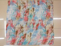 coconut tree print paris yarn hijab wrap scarf 8*colors