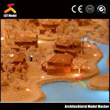 LST emulational villa scale model for construction & real estate