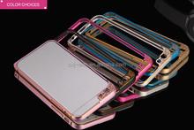2015 camera protect design aluminum bumper for iPhone 6,aluminum cell phone case for iphone 6, bumper phone case for iphone 6,