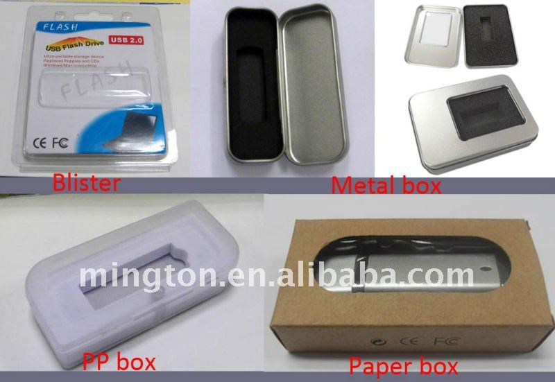 Swivel usb flash drive wooden