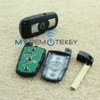 Popular Item key 3button 315LP car smart key blank for BW CAS3 key