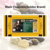 Hot Sale! Black Chocolate (for baking, coating ) golden class 1kg