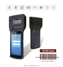cilico 5inch display thermal pos terminal pda within rfid/nfc reader,support 3g,wifi,bluetooth for restuarants management