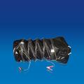 Anti-estática de ducto prueba explosiva negro Flexible