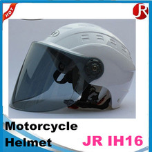 Factory price Great Quality FRP/ABS Open Face Motorcycle Helmet With Red Shining Flake Painting