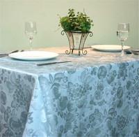 100% polyester home textile furnishing jacquard fabrics table cloth