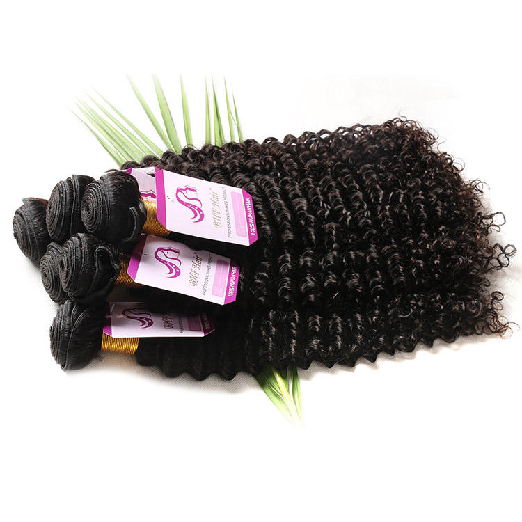 Wholesale Short Indian Remy Deep Wave Hair Weave Raw Hair