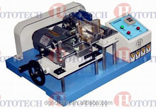 Kneading resistance testing machine for leather