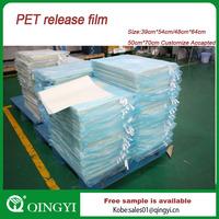 Alibaba China PET release film for screen printing machine