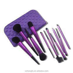 Cosmetic brush 5 pieces makeup brush kit one dollar shop