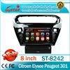Best quality Auto dvd player for Peugeot 301 Car DVD Player