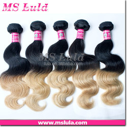 remy hair competitive price customized two tone remy hair extension